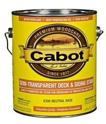 Semi-Transparent Stains - Cabot Stains