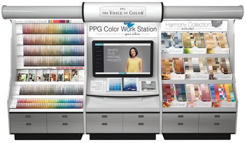PPG Paint Workstation- Piedmont Paints