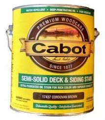 Semi-Solid Stain- Cabot Stains
