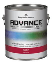 Advance Waterborne Interior Alkyd Paint- Benjamin Moore