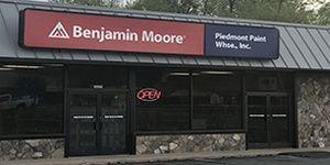 Benjamin Moore Paints at Piedmont Paint Warehouse